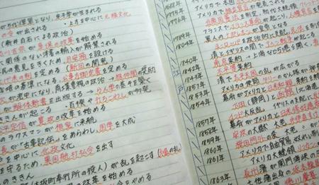 綺麗なノートを作る