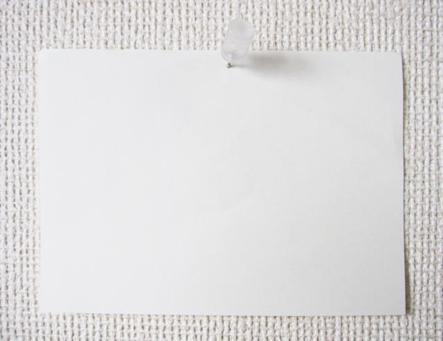 壁に単語一覧を貼る