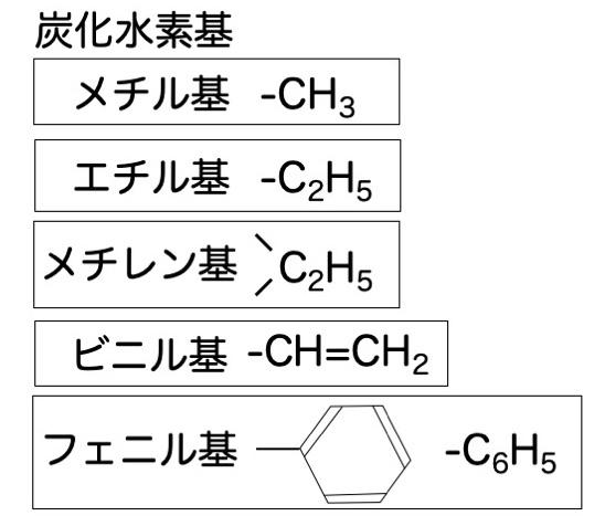 炭化水素基